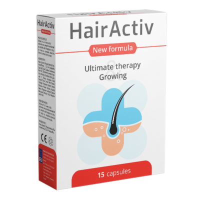 HairActiv capsule pentru cresterea parului – pareri, prospect, preț, farmacii, contraindicații, forum