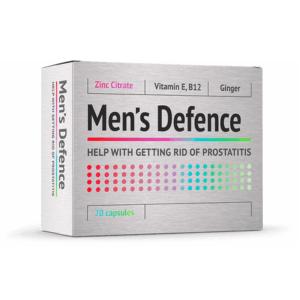 Men's Defence pastile pentru prostată - prospect, ingrediente, pareri, forum, preț, farmacii