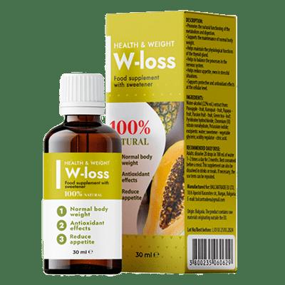 W-Loss picături pentru slabit – pareri, forum, ingrediente, preț, prospect, farmacii